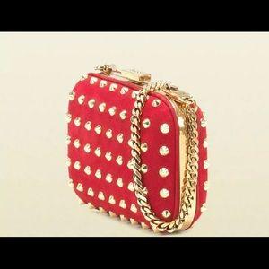 Gucci Broadway studded clutch bag